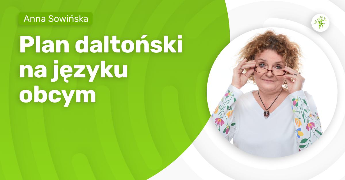 Plan daltoński na języku obcym - webinarium